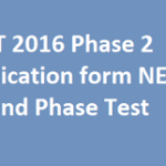 How to apply NEET-2 Examination 2016-17 : Registration Form, Last date