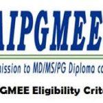 AIPGMEE Exam 2017 : Application form, Eligibility, Exam Syllabus