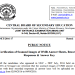 CBSE UGC NET Paper 2 Answer Key Subject Wise July 2016