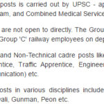 Upcoming Railway RRB RRC Recruitment 2016-17 : Online Form